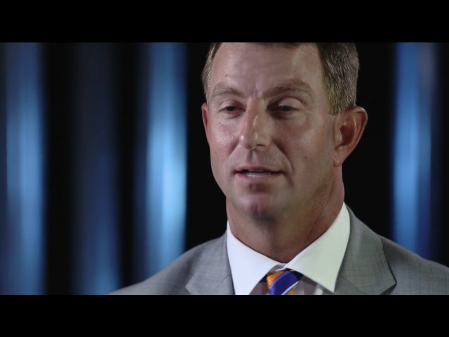 Clemson Tigers head coach Dabo Swinney tells a hilarious story about his first car