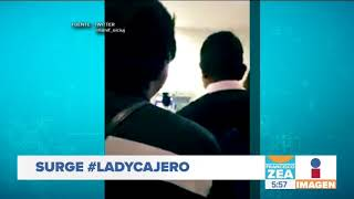 #LadyCajero, insulta a un joven en el banco y se pone loca | Noticias con Francisco Zea