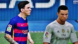 FIFA 2016 - Real Madrid vs Barcelona - Highlights HD PS4 60 FPS
