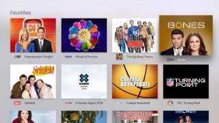 Watch live television on Apple TV