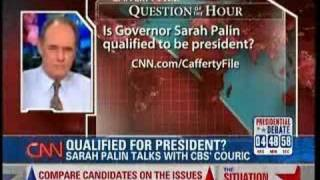 Cafferty: Palin Should Scare the Hell Out of You