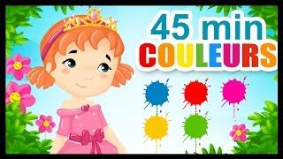 Les princesses et les couleurs - Comptines pour enfants