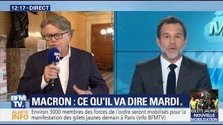 Gilbert Collard Coupé Par BFMTV En Défendant Les Gilets Jaunes