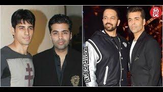 Karan To Revive Sidharth Malhotra's Career? | Karan-Rohit's Talent Show To Go Off-Air?
