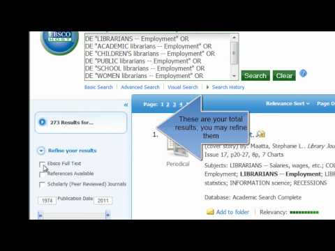 Academic Search Complete for FYS 1033.mp4