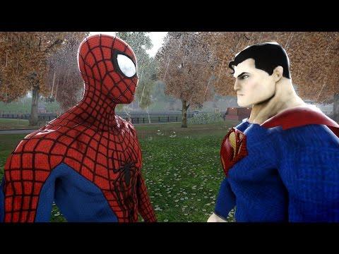 Xxx Mp4 SPIDERMAN VS SUPERMAN THE AMAZING SPIDER MAN VS MAN OF STEEL 3gp Sex