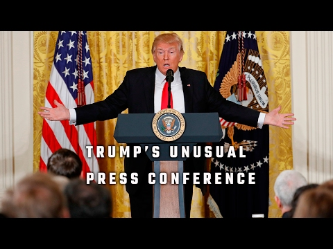 Full video President Donald Trump's press conference 2-16-17