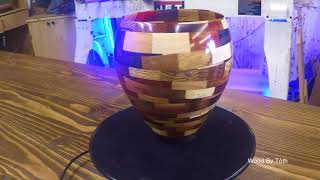 Segmented Turning - Chaos Vase inspired by Kyle Toth