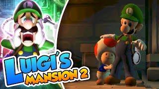 ¡Toad nos necesita! - #07 - Luigi's Mansion 2 (3DS) DSimphony