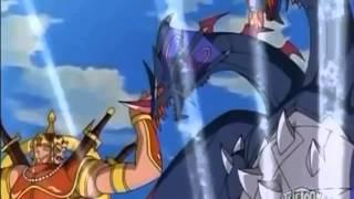 Bakugan New Vestroia- Alice and Chan Lee vs Shadow Probe
