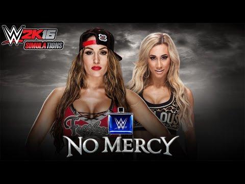 Xxx Mp4 WWE 2K16 NO MERCY 2016 Nikki Bella Vs Carmella 3gp Sex