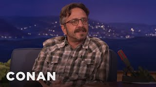 Marc Maron Likes Masturbating In The Shower  - CONAN on TBS