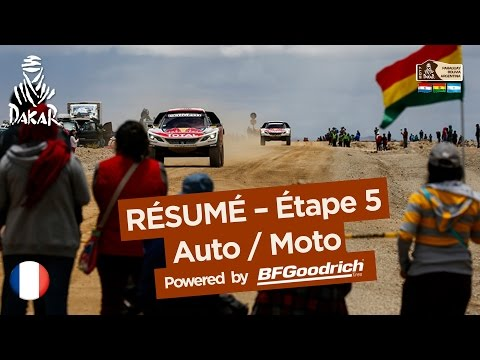 Résumé de l Étape 5 Auto Moto Tupiza Oruro Dakar 2017
