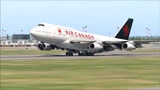 Xplane 11 Landing compilation #2