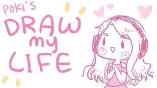 DRAW MY LIFE ❤ ft. Lilypichu ❤ | Pokimane