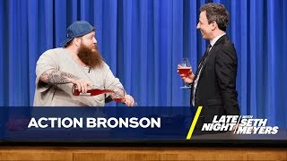 Action Bronson Shows Seth How to Cook a Black Truffle Burger