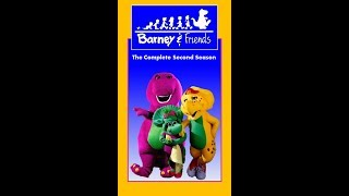 Barney & Friends: The Complete Second Season 1993 VHS (Tape 3) (FAKE)