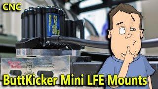 Designing & Milling Racing Simulator Transducer Brackets