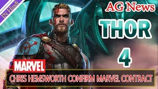 chris Hemsworth confirm Thor 4 and Avengers 5 Marvel contract AG Media News