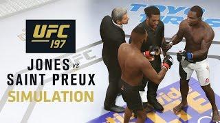 UFC 197: EA SPORTS UFC 2 Simulation – Jones vs Saint Preux