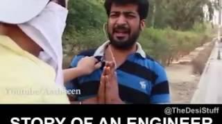 B tech life funny video
