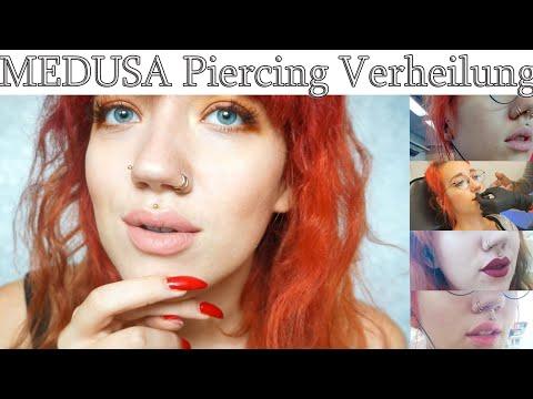 Medusa Piercing 💉 - Der Heilungsprozess