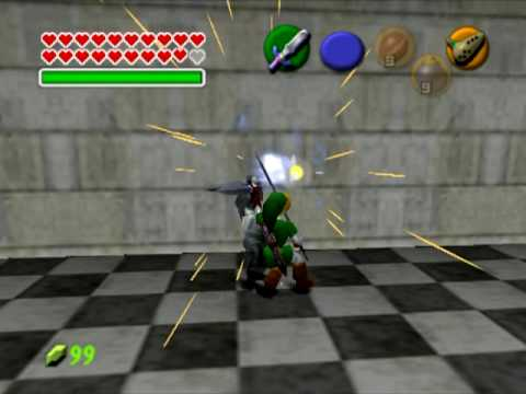 The Legend of Zelda Ocarina of Time Project64 cheats  (Gameshark Codes)