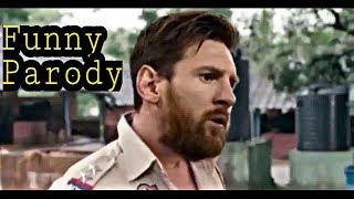 When Messi Fight: Chelsea vs Barca Funny Parody