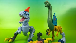 Hero Mashers Jurassic World Trex Dinosaurs for kids by DisneyToysReview