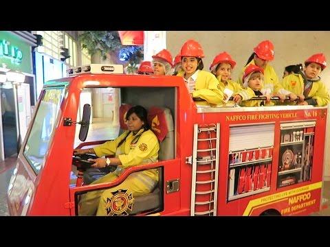 Fireman Sam Making Money and Having Fun at Kidzania Dubai