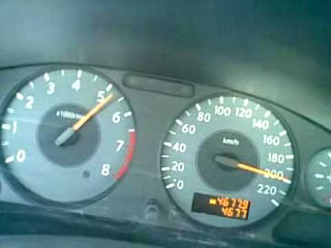 220 KMPH Nissan Sunny 2011