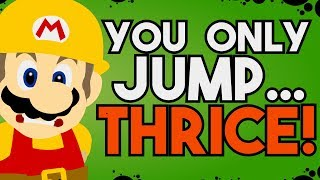 "How to Build an ""Only Three Jumps"" Level in Super Mario Maker 2!"