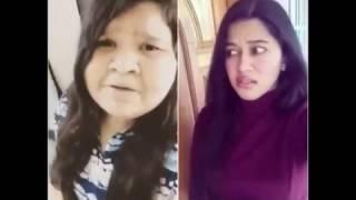 Mirnalini Dubsmash | Killing Face Expression | Queen of Dubsmash Mrinalini vs Praginsta Dubsmash