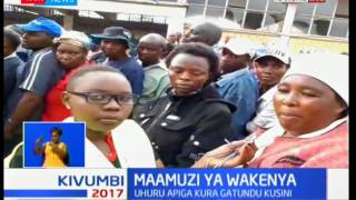 Why the voting process in Nakuru has been delayed with several residents yet to vote