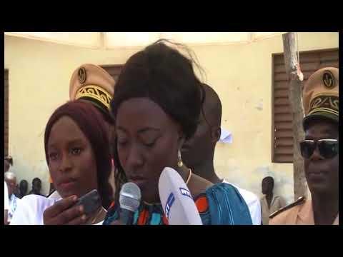 Education /Kouto: La ministre Mariatou Koné sensibilise sur la scolarisation de la jeune fille