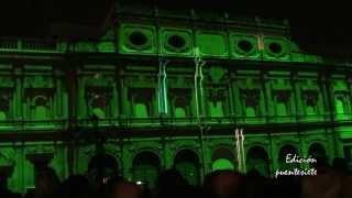 Mapping: Audiovisual.Espectáculo de Luz y Sonido.- Navidad en Sevilla 2012.