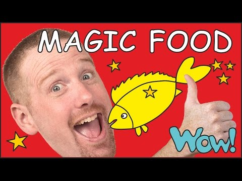 watch Magic food for kids | English stories for children | Steve and Maggie from Wow English TV
