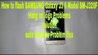 SAMSUNG Galaxy J3 2016 SM-J320F Flashing Pattern&Pin Lock Removed  Hang On logo Problem solution