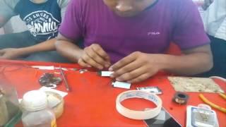 nokia C1 LCD  light solution