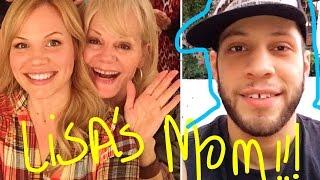 LISA SCHWARTZ'S MOM WANT'S TO MEET ME?