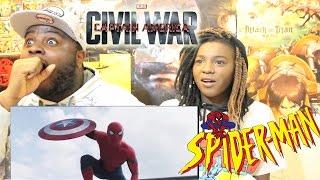 Marvel's Captain America: Civil War - Trailer 2 REACTION + THOUGHTS!!!