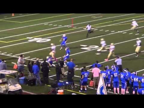 Jay Rose - #20 - WR / TE / QB - Sophomore Highlights - 2013