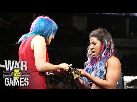 Xxx Mp4 Asuka Crowns Ember Moon The New NXT Women S Champion NXT TakeOver WarGames 3gp Sex