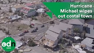 Deadly Hurricane Michael wipes out costal town