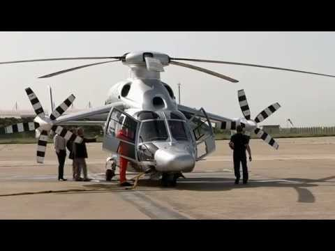 Eurocopter X3 hybrid helicopter new speed