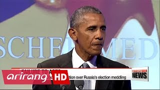Trump accuses Obama of inaction over Russia