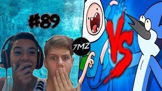 React #89-Finn VS. Mordecai | Duelo de Titãs [REMAKE] (7 Minutoz)