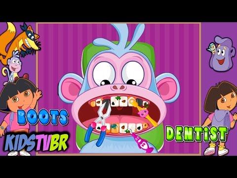DORA A AVENTUREIRA DORA THE EXPLORER GAMES DORA DENTIST GAME EPISÓDIOS COMPLETOS KIDS TV BR