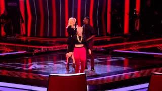 Matt Henry - 'Girl on Fire' The Voice U.K Semi-Finals [HD]