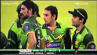 Saeed Ajmal 10 wickets vs Australia Odi Series - 2012